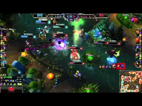 The power of Love will prevail! Pre-game Sounds and Highlights: Dignitas vs EG | W7D1 S4 NA LCS