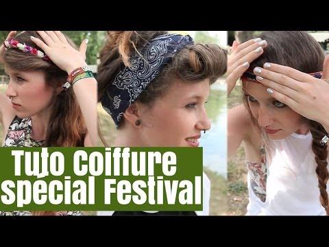 Tuto coiffure spécial Festival