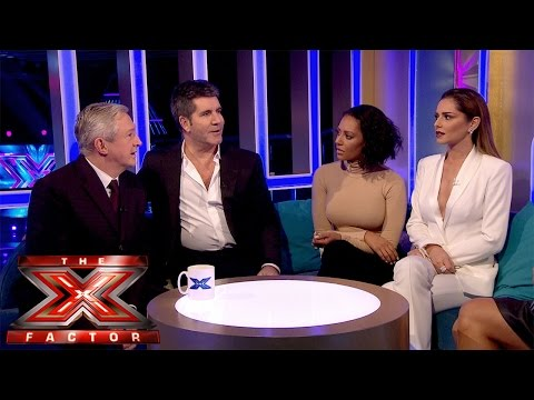 Naughty Simon Cowell | Live Results Wk 7 | The Xtra Factor UK 2014
