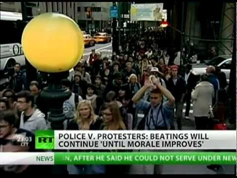Occupy Wall Street -- Police Brutality, Arrests, MSM blackout