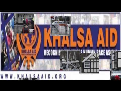 KHALSA AID UK FLOODS 2014
