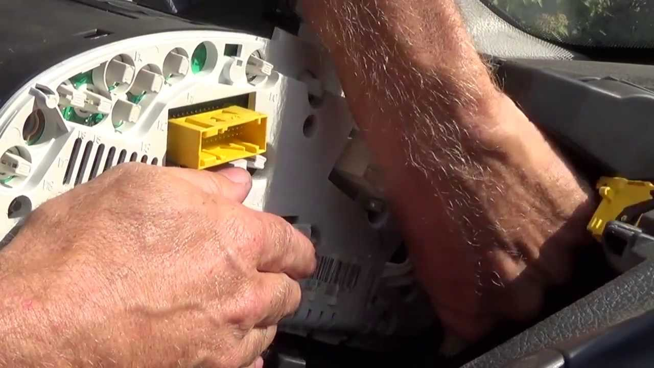 How to replace a dashboard light youtube