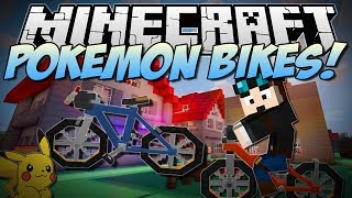 Minecraft POKEMON BIKES! (Beautiful Bicycles In