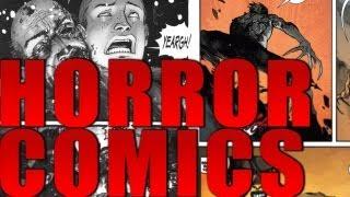 Top 5 Horror Comics for Halloween!