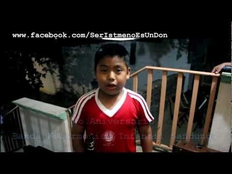 Invitación Banda Filarmonica Infantil Sandunga