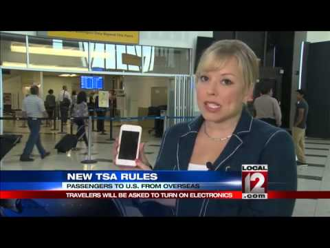 TSA requiring some overseas airports to have passengers power on electronic devices
