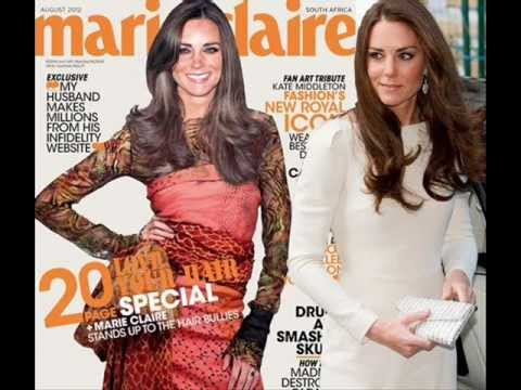 Fake Kate Middleton Appears On South African Marie Claire Cover