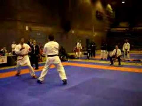 Rory Daniels – Commonwealth Karate Open 2008 – Part 2