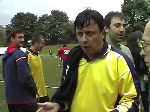 World Cup Seattle 2004 Armenia vs Turkey post game interviews
