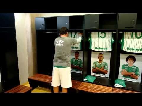 Vídeo Roupeiro que trabalhou no São Carlos FC e morreu no acidente da Chapecoense tinha canal no You Tube