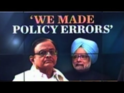 P. Chidambaram owns up to UPA mishandling economy after 2008