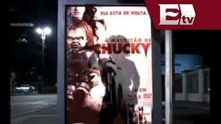 VIDEO: 'Chucky' Aterroriza Las Calles De Brasil / Andrea