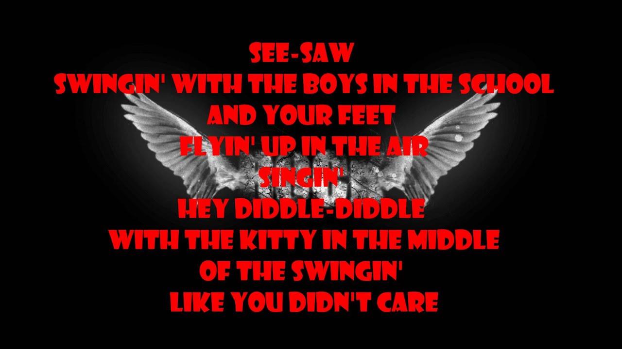 Aerosmith walk this way lyrics youtube