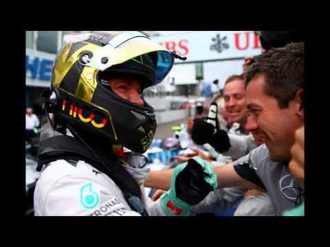 Nico Rosberg Completes Perfect Week at 2014 German Grand Prix
