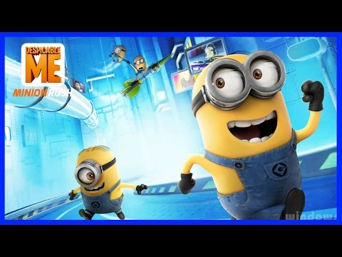 Despicable me 2 - Minion Rush Playthrough - Minion Rush Full Movie Game - Part 1