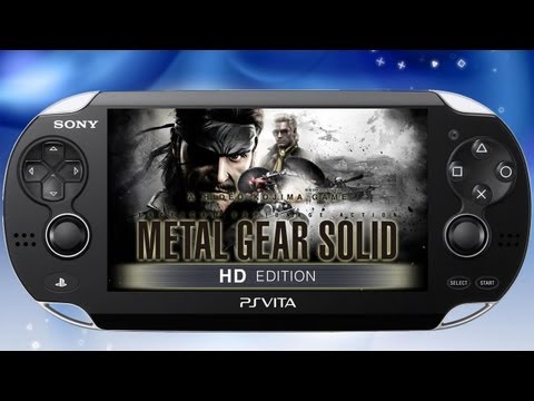 Metal gear Solid HD Collection 'PS Vita Trailer' TRUE-HD QUALITY