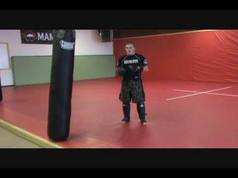 Lead Inside Leg Kick