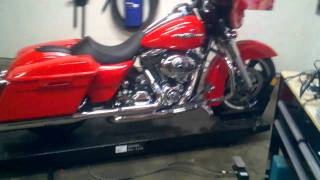 2010 Street Glide With J&M Audio 7.25 Speakers & 250w Amp