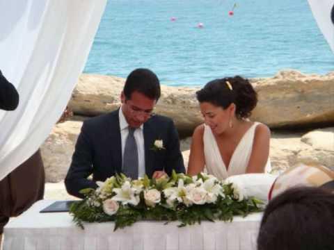 زفاف مالك مكتبي و نايلة تويني Malek Maktabi & Nayla Tueini