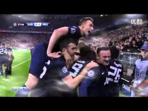 Manchester united vs Bayern munich Patrice Evra First Class Goal