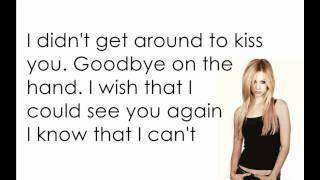 Avril Lavigne Slipped Away [Lyrics/Letra]