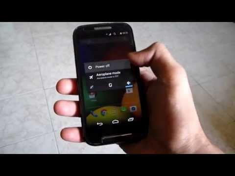 Unbrick Moto E - Downgrade Moto E From Lollipop to KitKat 4.4.4 !