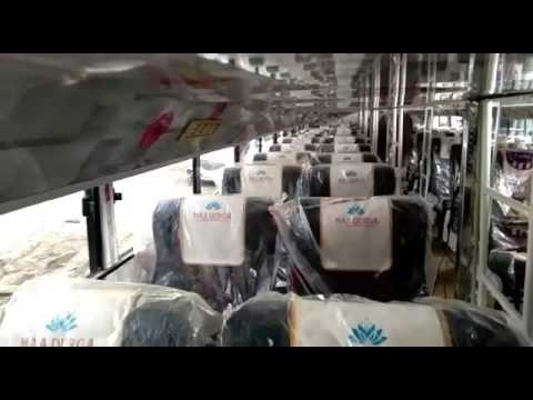 AC Pushback seat and sleeper coach on TATA 1618/62 W.B chasis
