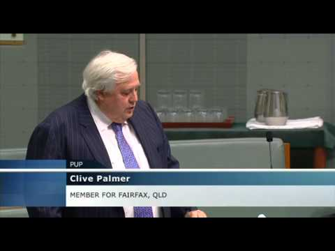 Clive Palmer on Carbon Tax Repeal (July 14, 2014)