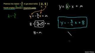 Enačba premice 1