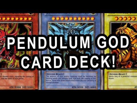 PENDULUM GOD CARD DECK! IN ACTION + DECK PROFILE!