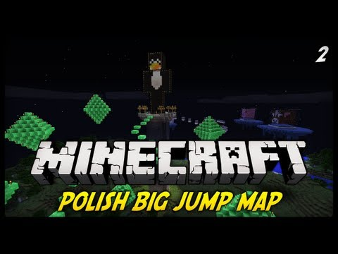 Minecraft - Polish Big Jumps Map! Trick na Parkour!  [#2] (Mapka Parkour ft. Keralis)