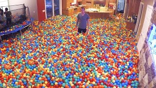 Crazy Plastic Ball PRANK!!