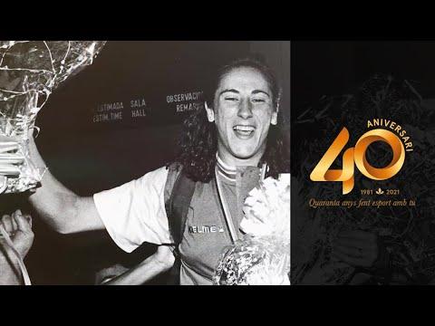 Homenatge a Almudena Muñoz   #40AnysAmbTu