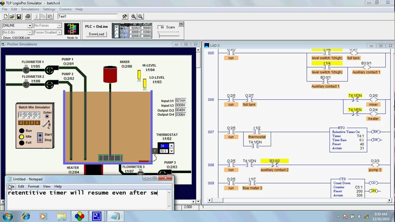 logixpro plc lab manual answers