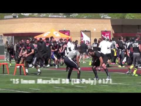 2013 Nike Football Training Camp: Top Plays - QB, WR, DB, RB, LB - CollegeLevelAthletes.com
