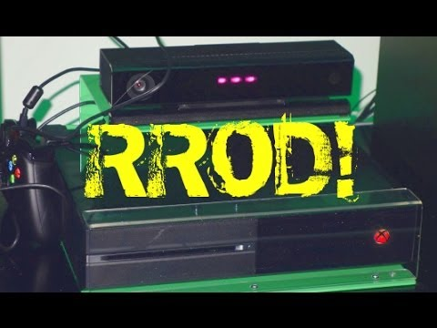 XBOX ONE RED RING OF DEATH: 4K GAMING & RROD OVERHEATING