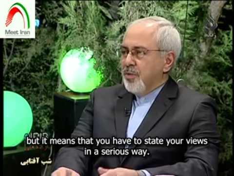 Iranian FM Zarif discusses talk w/ Kerry upon return from NYC