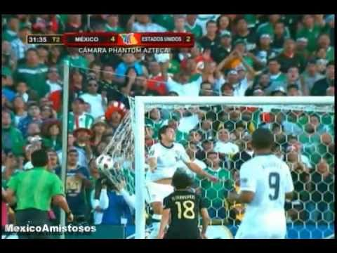 Mexico vs Estados Unidos 4-2 FINAL COPA ORO 2011 Champions Gold Cup
