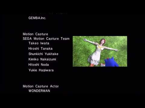 Sonic the Hedgehog 2006: Sonic Story Credits [1080 HD]