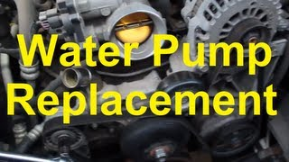 How To Replace The Water Pump On A Chevy/GM Vortec V8 4.8