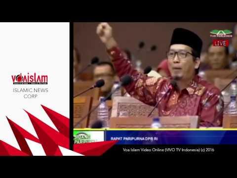 Video AlMuzzammil Yusuf - Gemuruh Takbir di Sidang Paripurna DPR Soal inToleransi Ahok