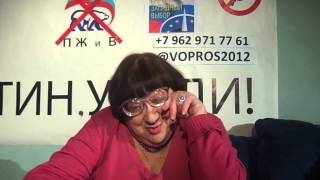 Novodvorscaia despre candidatul opoziiei ruse la preedinie