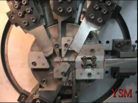 Máy Dập tự động tạo hình sản phẩm