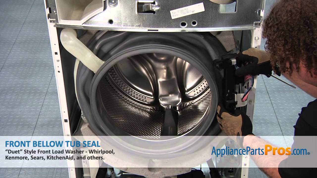 Duet Washer Front Bellow Tub Seal Part 8181850 How To