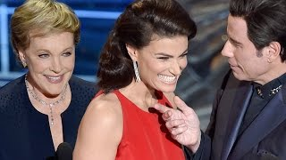 6 Best Presenter Moments 2015 Oscars - John Travolta, Jennifer Lopez, Kevin Hart
