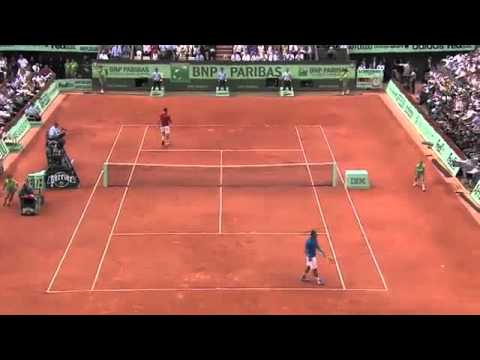 Nadal Federer French Open Final 2011 Highlights HQ
