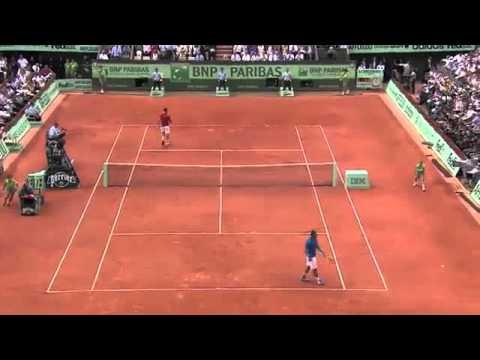 Nadal Federer French Open Final 2011 Highlights HQ