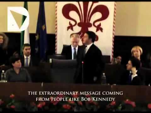 Italian Prime Minister Matteo Renzi on RFK Europe