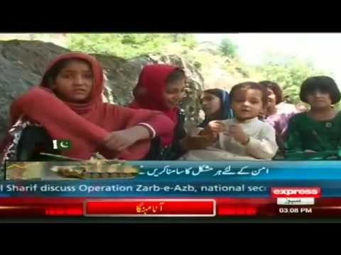 Waziristan IDPs in swat valley Report by sherinzada