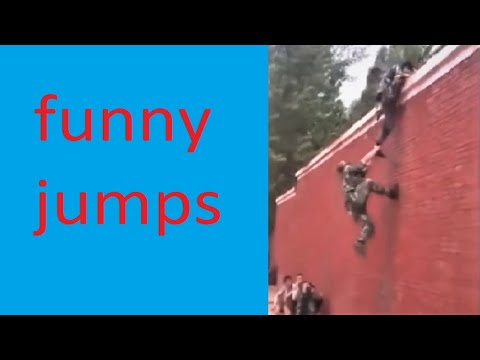 FUNNY / MOST FUNNY JUMPS!  Try not to laugh